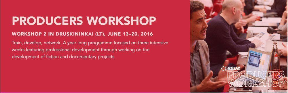 Inkas Associate - eave workshop Poster PRODUCTION SERVICES